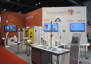 asecos at ArabLab 2016 Dubai