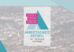 asecos at Arbeitsschutz Aktuell 2018