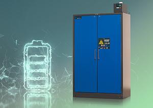 ION-LINE: almacenamiento seguro de acumuladores de iones de litio