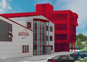 asecos: Nuevo edificio de administración en proyecto