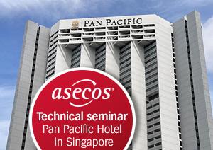 asecos - 在新加坡成功的技术研讨会