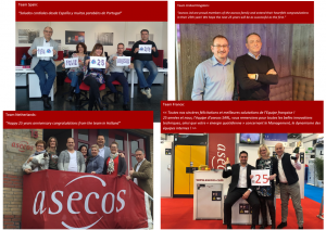 Today, asecos has its 25th birthday!