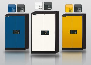 Configurator for safety storage cabinets