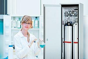 G-LINE - gas cylinder cabinets