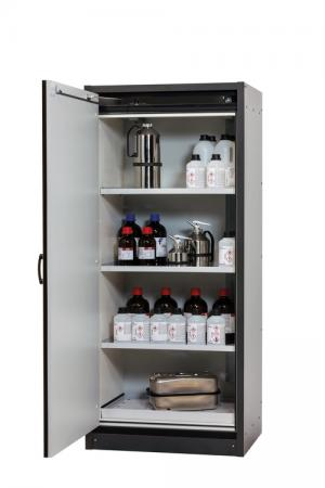 Flammable storage cabinet with 30 minutes fire resistance