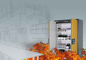 asecos - Overview of safety storage cabinets