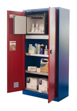 Environmental cabinet with Type 30 safety box