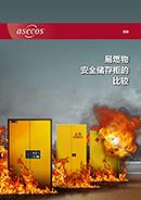 易燃物 安全储存柜的 比较