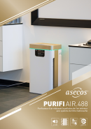 PURIFIAIR.488 - Purificateur d'air réduisant la pollution de l'air intérieur
