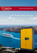 Safe flammable storage aboard cruise ships