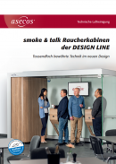 Raucherkabinen der DESIGN LINE