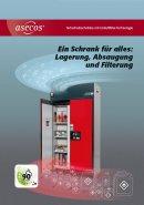 asecos: Sicherheitsschränke mit Umluftfilter-Technologie