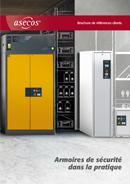 Brochure de références clients: armoires de sécurité dans la pratique