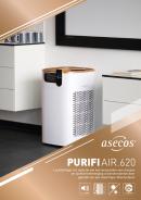 PURIFIAIR.620 - Luchtreiniger ter reductie van het verspreiden van virussen en luchtverontreiniging in binnenruimtes door
