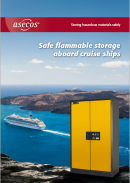 asecos Safe flammable storage aboard cruise ships