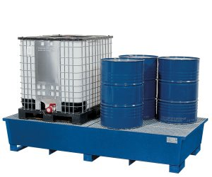 Sump pallet systems