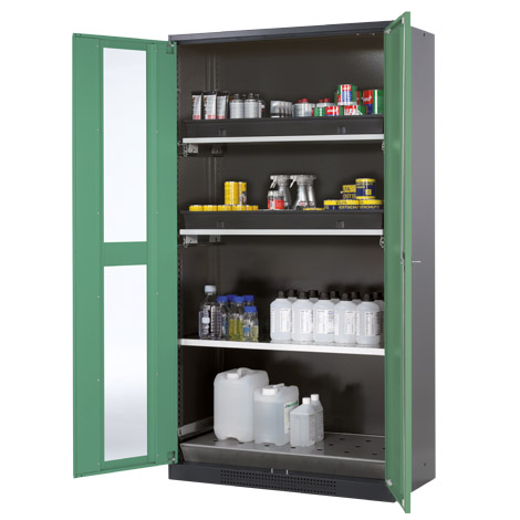 Cabinet for chemicals