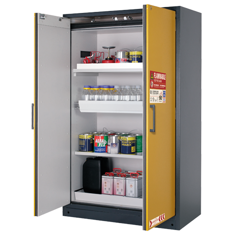 Q-LINE safety storage cabinet for high risk areas