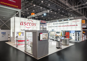 asecos booth at A+A 2015