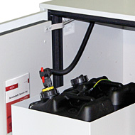 Disposal system for type 90 underbench cabinets