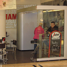 Espressobar Segafredo Hamburg