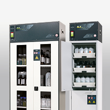 Overview of safety storage cabinets