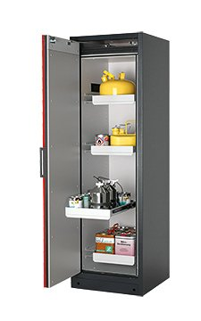 Safety storage cabinet Q-CLASSIC-90, 0,60m width, with drawers