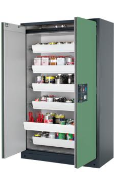 Safety storage cabinet Q-CLASSIC-90, 1,20m width, with drawers
