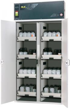 Recirculating air filter storage cabinet SLX-CLASSIC, 120cm width