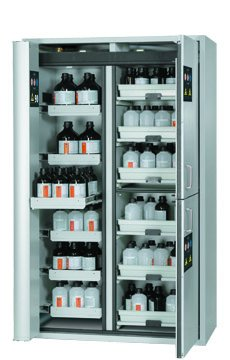 Combi safety storage cabinet K-PHOENIX-90, 1,20m width, with