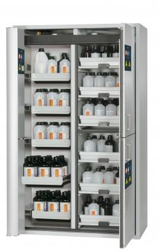 Combi safety storage cabinet K-PHOENIX-90, 1,20m width, with