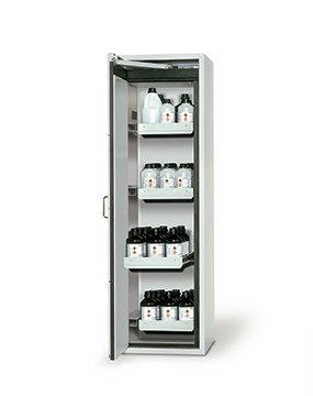 Safety storage cabinet S-CLASSIC-90, 0,60m width, with drawers