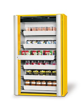 Safety storage cabinet S-PHOENIX-90, 1,20m width, with drawers