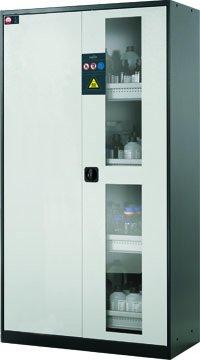 Armoire pour produits chimiques avec portes battantes