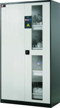 Armarios para productos químicos con puertas batientes