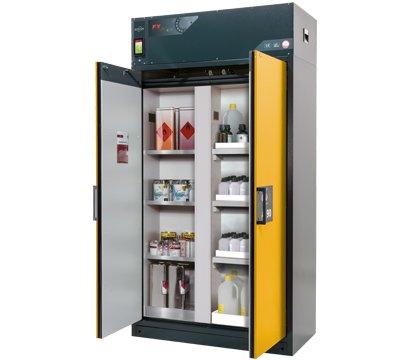 Szafa bezpieczeństwa z recyrkulacyjnym systemem filtracji powietrza FX-CLASSIC-90 z podziałem pionowym