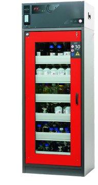 Szafa bezpieczeństwa z recyrkulacyjnym systemem filtracji powietrza FX-DISPLAY-30, 86 cm