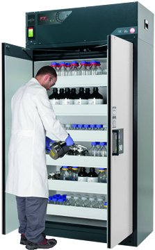 Szafa bezpieczeństwa z recyrkulacyjnym systemem filtracji powietrza FX-PEGASUS-90, 120 cm