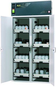 Szafa bezpieczeństwa z recyrkulacyjnym systemem filtracji powietrza SLX-CLASSIC, szerokość 120 cm