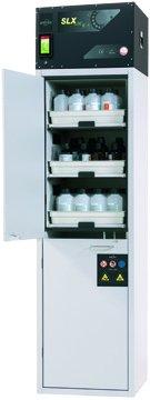 Szafa bezpieczeństwa z recyrkulacyjnym systemem filtracji powietrza SLX-CLASSIC, szerokość 60 cm