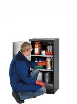 高 110 厘米,宽 54 厘米的化学品储柜
