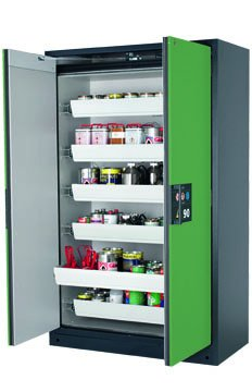 Q-CLASSIC-90 安全储存柜,宽 1,20 米,带抽屉