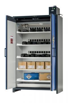 Armoire de sécurité ION-LINE, Modèle BATTERY STORE avec ventilation mécanique