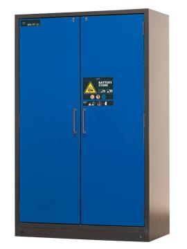 ION-LINE safety storage cabinet, model BATTERY STORE, 120 cm wide