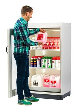 Safety storage cabinet SP-DISPLAY-30 as a solution for every sales outlet