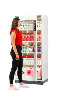 Safety storage cabinet SP-DISPLAY-30 with large viewing window