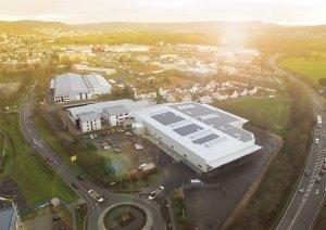 Neue Produktions- und Lagerhalle