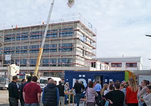 Richtfest neues Verwaltungsgebäude asecos GmbH