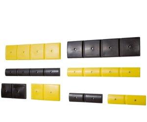 Anfahrschutz um Vorbeugen gegen Beschädigungen an Wänden, Pfeilern oder Ecken